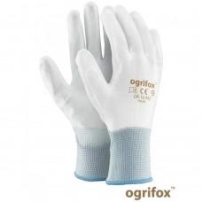 Перчатки для работ требующих точность и ловкость, белого цвета.