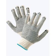 Перчатки вязаные с ПВХ-точкой с 2-х сторон