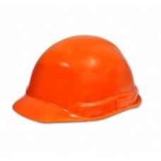 Каска строительная, оранжевая